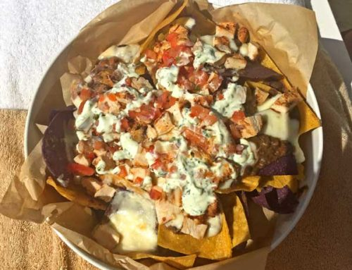 Poolside Chicken Nachos, The Ritz-Carlton at Palm Beach, Aruba