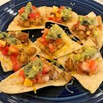 Blackened Sea Trout Nachos
